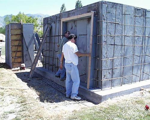 Erick Christley Roger Butz Install The Double Wide Exteriordoor Frame I